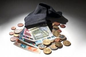 Money in socks