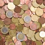 Euro Coins Texture